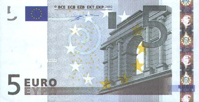 ����. ������ ��������� � 5 EUR, ����� (������� �������).