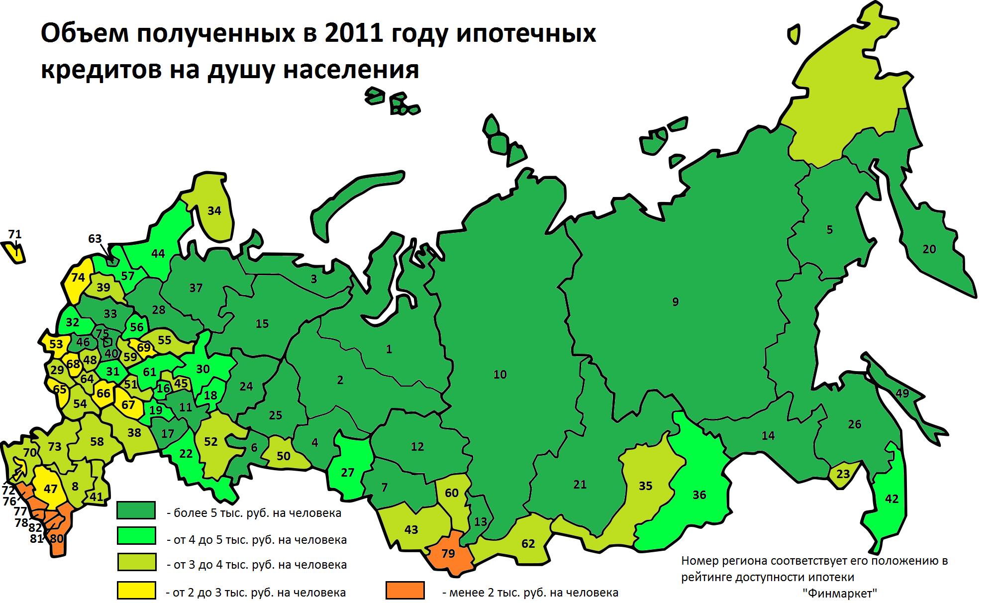 Кавказская ипотека дороже московской
