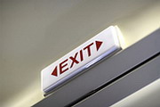 No exit strategy?