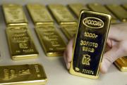 Золото стабильно растет