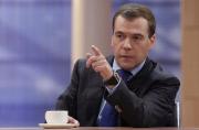 """Медведев - бизнесу: """"хватит спать"""""""