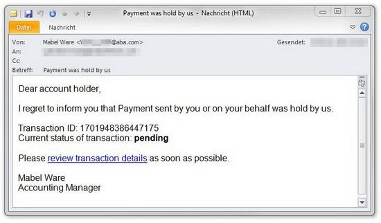 Пример мошенничества для онлайн-банкинга.  Существует много способов внедрения таких троянов.