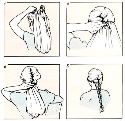 Ресниц, косая челка