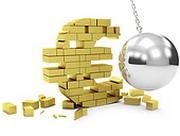 Евро: падение продолжается
