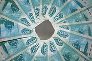 Рубль больше не мается