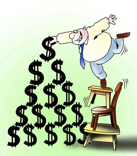 Есть финансовые пирамиды, в которых приходится платить деньги за покупку уровня (1-го, 2 - го и т.д...