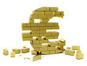 Евро потерял треть рубля