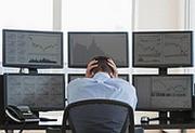 Фондовый обвал на долговых проблемах