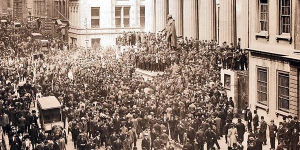 Паника на Уолл-стрит во время банковского кризиса 1907 года