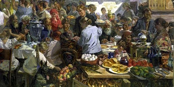 РИА Новости, С.Озерский, репродукция картины художника А. Пластова