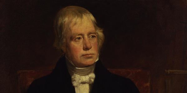 сэр Вальтер Скотт, портрет работы Джона Грэма Гилберта