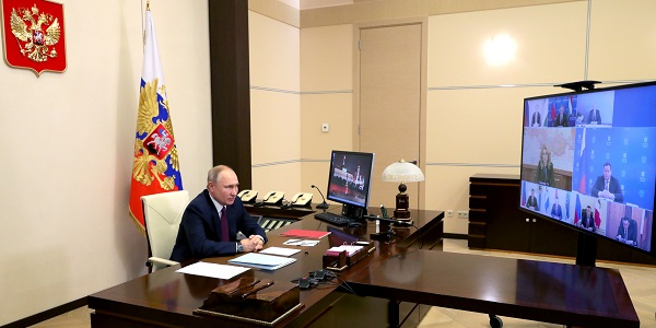 Михаил Климентьев/пресс-служба президента РФ/ТАСС